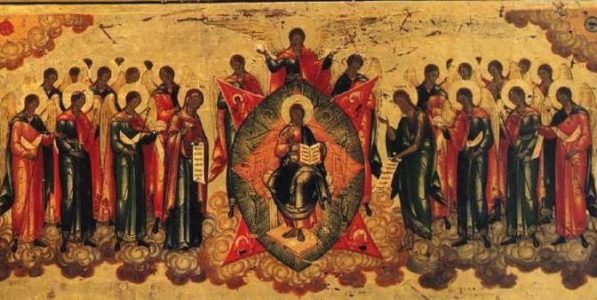 Tutti i Santi Icona dettaglio